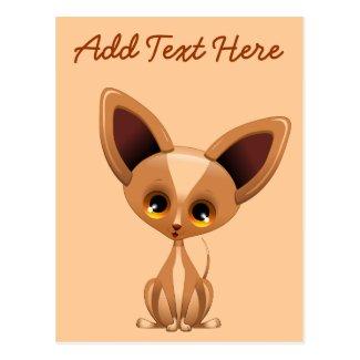 Chihuahua Puppy Dog Cartoon Post Cards
