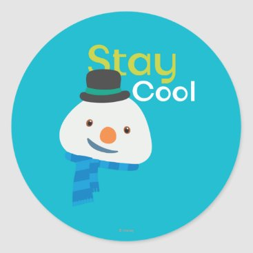 Chilly- Stay Cool 3 Classic Round Sticker