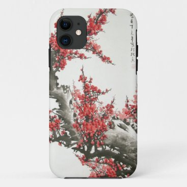 Chinese Cherry Blossom iPhone 11 Case