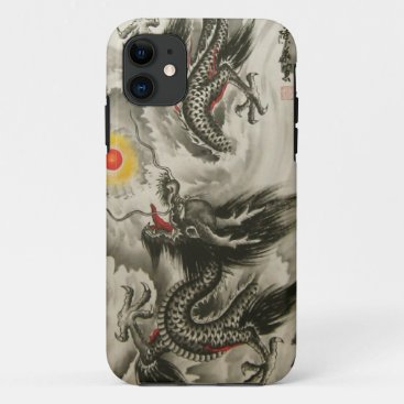 Chinese Dragon Painting iPhone 5,  iPhone 11 Case