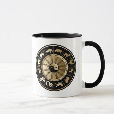 Chinese Zodiac Chart - Year of the Dragon Mug
