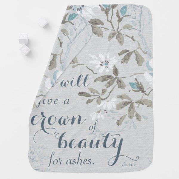 Crown of Beauty Baby Blanket