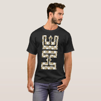 Christian Faux Glitter Gold HE in ME T-Shirt