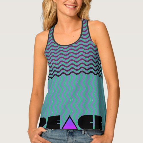 Christian Peace of God Tank Top