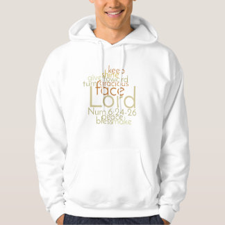 Christian Priestly Blessing Word Art Hoodie