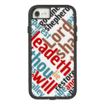 Christian PSALM 23 Colorful Word Art Case-Mate Tough Extreme iPhone 8/7 Case