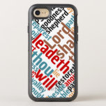 Christian PSALM 23 Colorful Word Art OtterBox Symmetry iPhone 8/7 Case