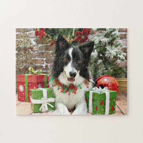 Christmas - Border Collie - Jessup Jigsaw Puzzle