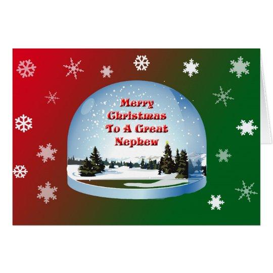 Christmas Card Nephews Printable