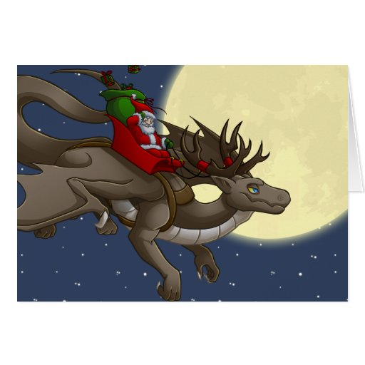 Dragon Christmas Cards Dragon Christmas Card Templates