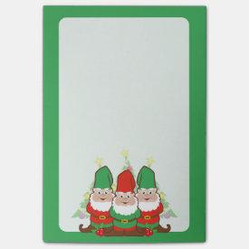 Christmas Gnomes Post-it® Notes