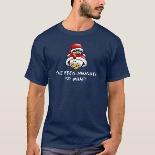 Christmas I've Been Naughty T-Shirt