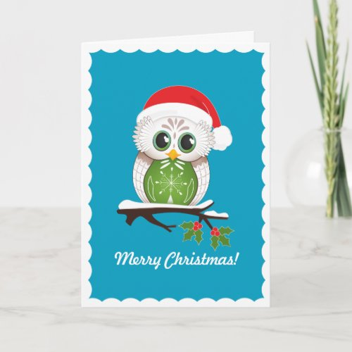 Christmas Owl Card