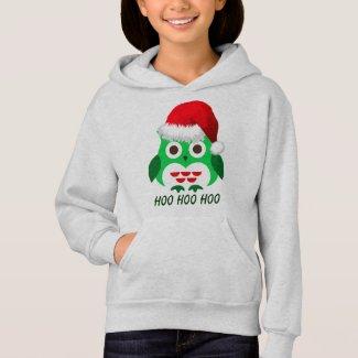 Christmas Owl Hoo Hoo Hoodie
