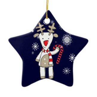 Christmas Reindeer Ornament ornament