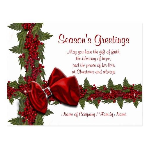 Christmas Sayings Cards