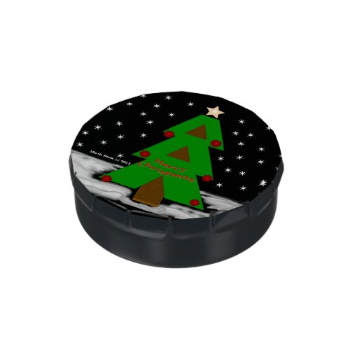 Christmas Tree - Candy Tin