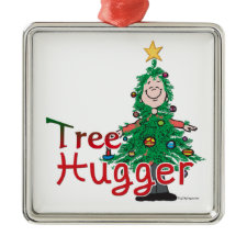Christmas Tree Hugger ornament