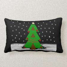 Christmas Tree Night - MoJo Pillows