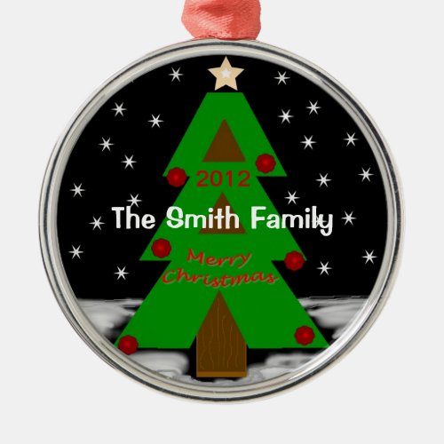 Christmas Tree Night - Personalize Ornament