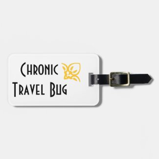 Chronic Travel Bug Luggage Tag