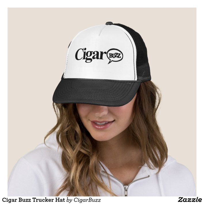 Cigar Buzz Trucker Hat