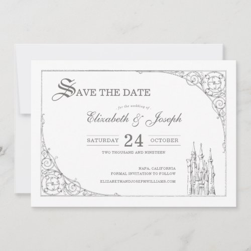 Cinderella Castle | Fairytale Save the Date