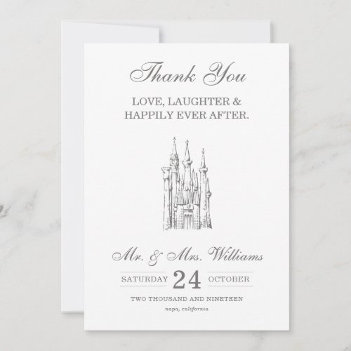 Cinderella Castle | Happily Ever After Thank You