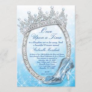 cinderella invitations zazzle