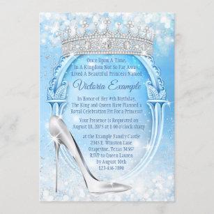https www zazzle com cinderella birthday invitations