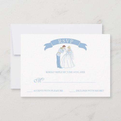 Cinderella Wedding   Classic RSVP