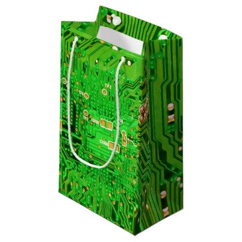 Circuit Board Design Small Gift Bag