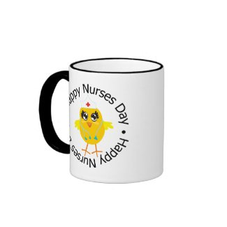 Circular Design Happy Nurses Day mug
