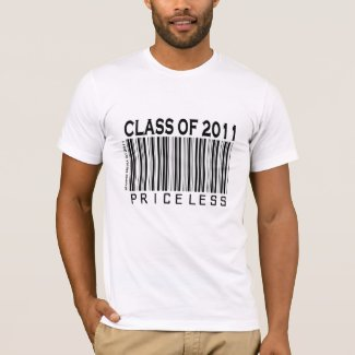 Class of 2011: Priceless - Barcode - Shirt shirt