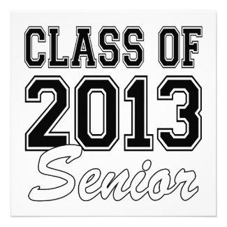 Class of 2013 Senior Custom Invite