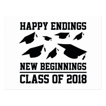 Class Of 2018 Postcard