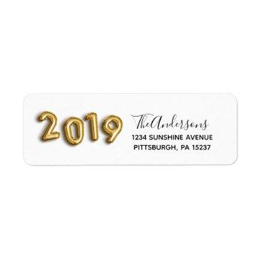 Class of 2019 Graduation return address label