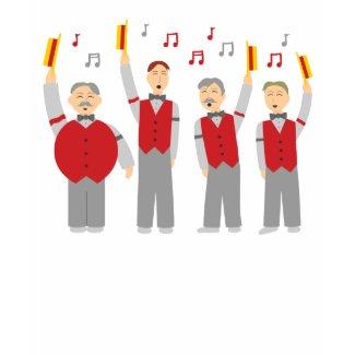 Classic Barbershop Quartet shirt