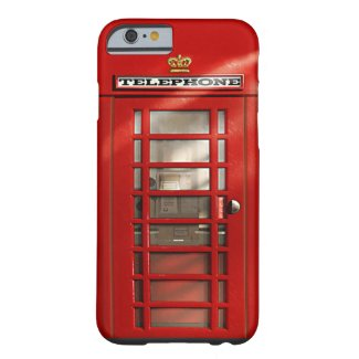 Classic British Red Telephone Box iPhone 6 case iPhone 6 Case