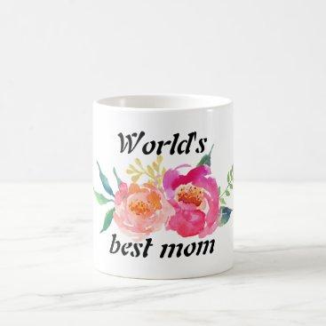 Classic Mug: Worlds best mom Coffee Mug