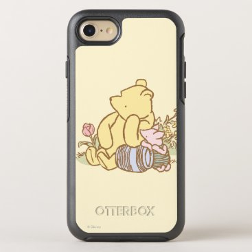 Classic Winnie the Pooh and Piglet 1 OtterBox Symmetry iPhone 8/7 Case