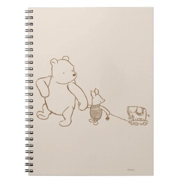 Classic Winnie the Pooh and Piglet 2 Notebook
