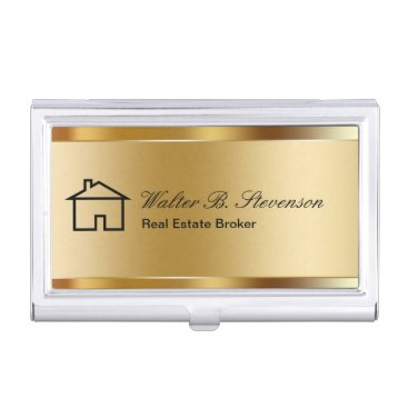 Classy Real Estate Business Card Cases