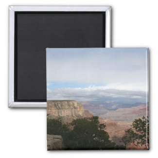 Clouds over Grand Canyon Refrigerator Magnet