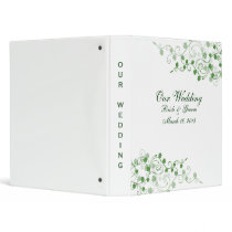 Clover Irish Wedding Binder