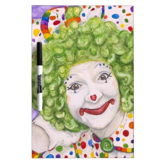 Clown Sue Marranconi - Squeeze Dry-Erase Whiteboards