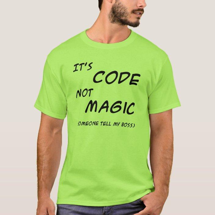 Official Software Development Process Coder Coding Humor Shirt