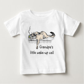 "Coffee Kitty is NOT a morning cat *ahem* ""person""! Baby T-Shirt"