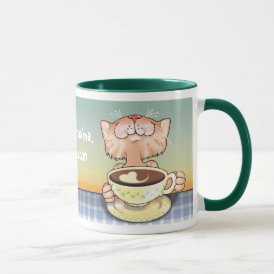 Coffee Loving Tabby Mug