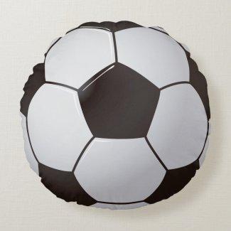 Cojín Redondo Soccer ball